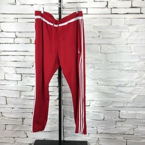 Adidas Track Pants 3 Stripes Taper Leg Pants 1367